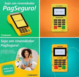 Kit Maquininha Cartão PagSeguro Atacado/Revenda