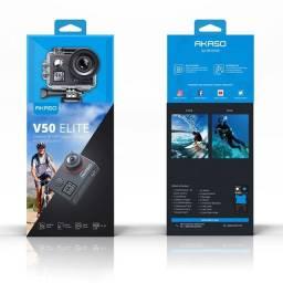 Câmera akaso v50 elite 4k/60fps, estilo Gopro