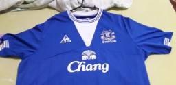 Camisa de Futebol do Everton da Inglaterra