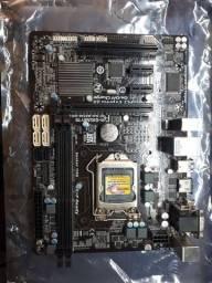 Kit: placa mae processador memória  cooler e hd