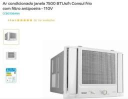 Vendo ar condicionado com defeito 7.500 btus