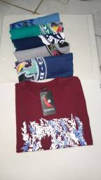 Camisas e bolsas