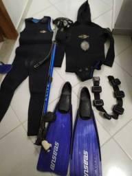 """Equipamento de mergulho""""pesca sub"""""""