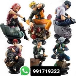 Naruto kit com 6 personagens fazemos entregas