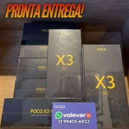 O MENOR PREÇO do BRASIL! POCO X3 NFC 128GB - Novo Lacrado Garantia - GLOBAL