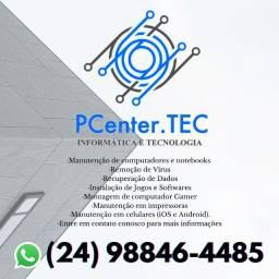 Assistência técnica em informática.