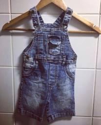 Macaquinho Carter?s jeans - 2 anos