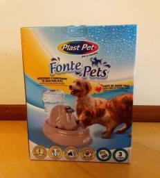 Bebedouro para pets com filtro purificador
