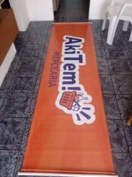 Faixa estilo Banner para mercearia