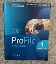 Livro de inglês intermediário - Pro File Oxford + CD
