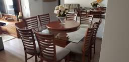 Mesa de Jantar c/ 8 cadeiras