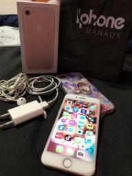 Vendo iPhone 7 Rose novo na caixa 32 GB