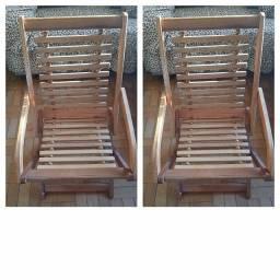 Cadeiras de Madeiras.