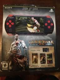 PSP Edição Limitada GOD OF WAR + 5 JOGOS