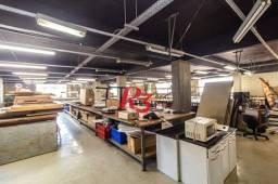 Andar Corporativo para alugar, 476 m² - Vila Matias - Santos/SP