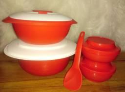 Kit servir  tupperware brinde 1 colher
