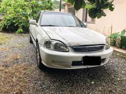 Vendo Honda Civic LX automático 99 R$ 7.777,00