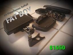 Kit Plataformas Softtail Fat Boy Originais HD
