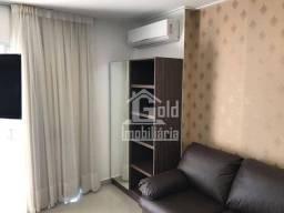 Apartamento com 1 dormitório para alugar, 45 m² por R$ 1.800/mês - Bosque das Juritis - Ri