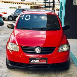 Volkswagen Fox Trend GI 1.0 2010 Vermelho Manual Flex + Gnv