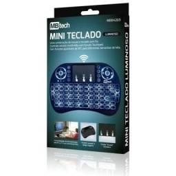 Mini Teclado Touchpad Wireless 2.4G Com Led Mbtech - Loja Dado Digital