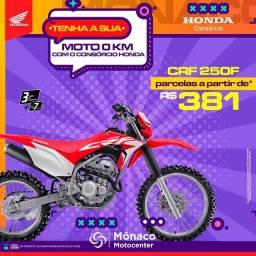 Título do anúncio: Conquiste sua HONDA-CRF 250