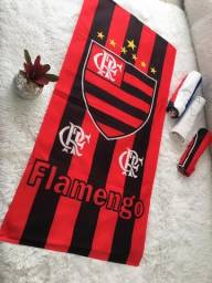 Linda toalha do Flamengo.