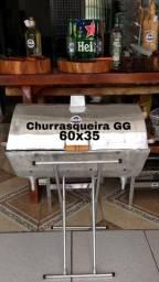 CHURRASQUEIRA ALUMÍNIO FUNDIDO GIGANTE