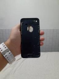 Carcaça iPhone 7 com flex de botão