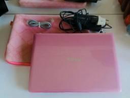 Notebook Philco -rosa