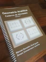 Geometria Analítica- caderno de atividades- volume 1