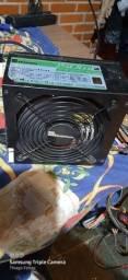 Fonte real  750w modular  Gamer