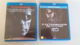 Blu-rays - O Exterminador do Futuro 3 e Gênesis 3D Duplo