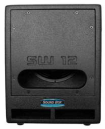 Caixa Sub Grave Passiva SW 12 - Soundbox