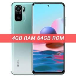 Celular Xiaomi Redmi Note 10 4/64 12x Sem Juros