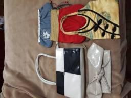Roupas,bolsas e calçados sociais femininos