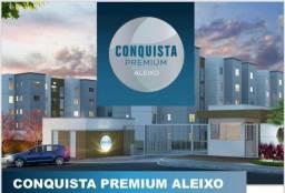 Lindo apartamento no Cd: Conquista Premium Aleixo, 02 Qts, A/ 01 Sts
