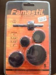 Kit serra copos Famastil
