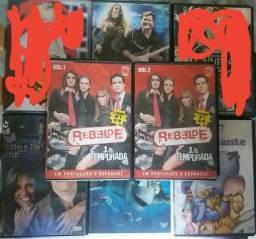 Dvds variados - R$ 8 cada RBD Calypso Disney Cidia e Dan