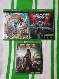 3 jogos de Xbox One por 120