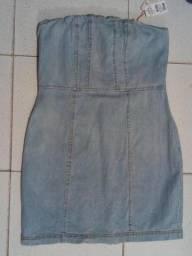 Vestido Jeans Tomara que Caia M