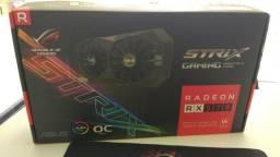 Placa de Video Rx 570 4GB Strix gaming OC