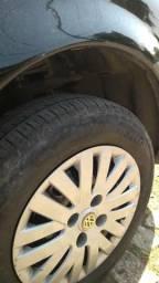 Troco pneus com rodas de ferro 14 em pneus com rodas ferro 13