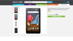 Tablet Multilaser M7 3G Plus - Nunca usado (tenho 4 peças)