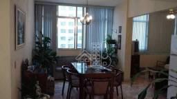Apartamento com 3 dormitórios à venda, 165 m² por R$ 750.000,00 - Icaraí - Niterói/RJ