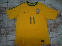 Camisa seleção brasileira 2010 tamanho M fd3917849bd49