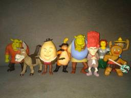 Bonecos Brindes do MacDonald's Shreck e amigos