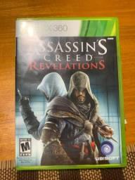 Jogo para XBOX 360 em DVD ASSASSIN?s CREED REVELATIONS