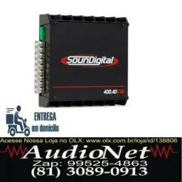 Modulo Amplificador Soundigital Sd400 400w Rms 4C Automotivo Carro Som comprar usado  Recife