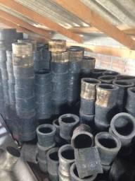 Vasos de borracha reciclada vários tamanhos